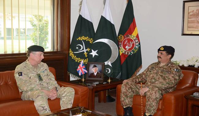 General Sir Nicholas calls on General Raheel Sharif