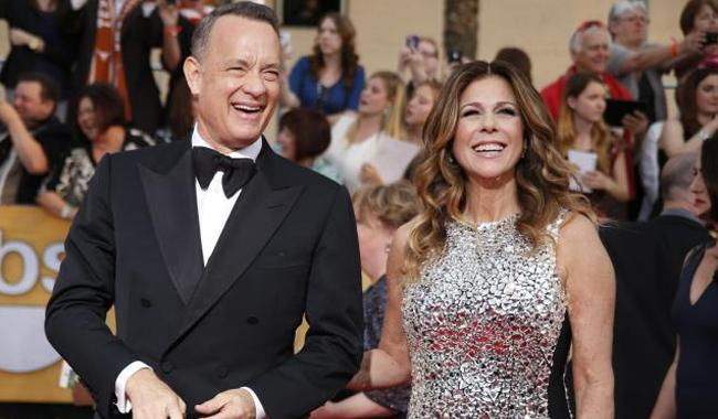 Tom Hanks wins tabloid apology over crumbling marriage claims