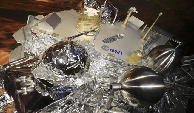 European scientists puzzle over Mars lander's radio silence
