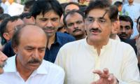 Murad facilitates Nisar on his appointment as Sindh PPP chief