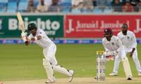 Pakistan bat against WI in second Test