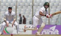 Honours even as Tamim leads Bangladesh fightback