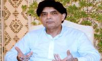 Nisar orders inquiry into incident of slapping female reporter