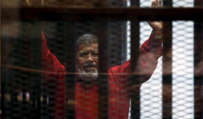 Egyptian court confirms 20-year-prison sentence on Morsi