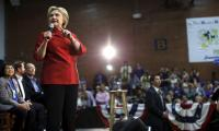 Suspicious envelope found at Clinton campaign office: police