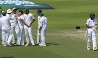 Yasir takes four as West Indies out for 224