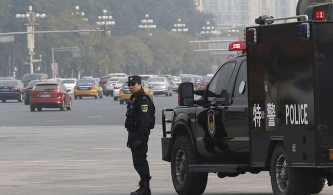 Seven killed in powerful blast in China