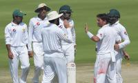Blackwood misses century, Pakistan close on win