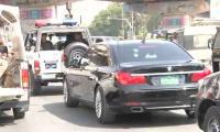 Sindh CM violates VIP culture
