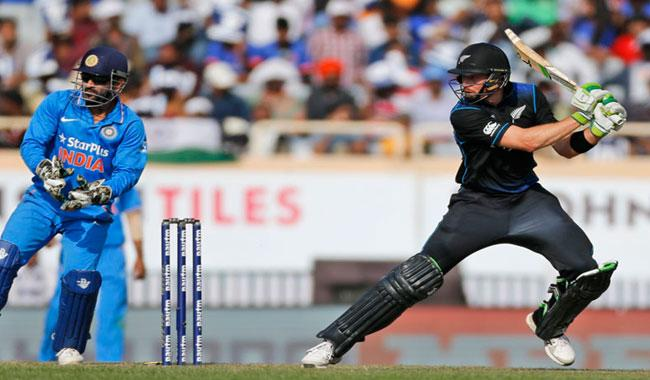 India set 261 by New Zealand in fourth ODI
