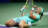 Kuznetsova beats Pliskova in thriller