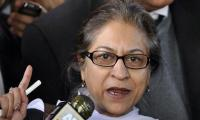 Asma Jahangir to politicians: Don't saw off the branch you're sitting on