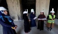 Afghan women seek to rebuild palace destroyed by men