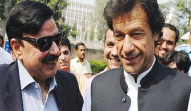 Imran, Sheikh Rasheed discuss Pindi rally over phone