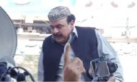 Sheikh Rasheed defies ban, reaches Committee Chowk