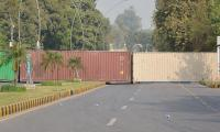 Pakistan shippers fume as containers hijacked to block protests