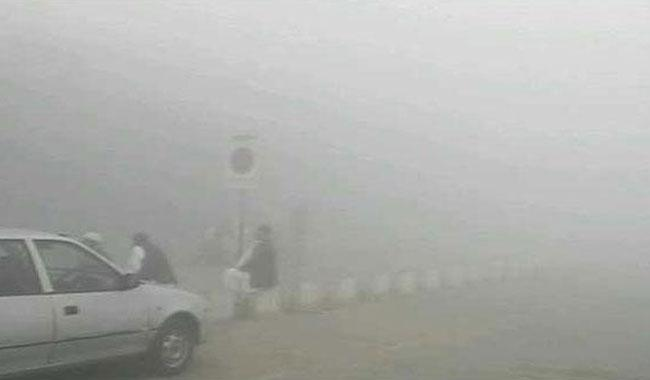 Smog causes closure of motorway across various locations