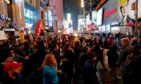Protesters take to US streets over Trump victory