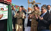Historic day as trade activity begins under CPEC from Gwadar