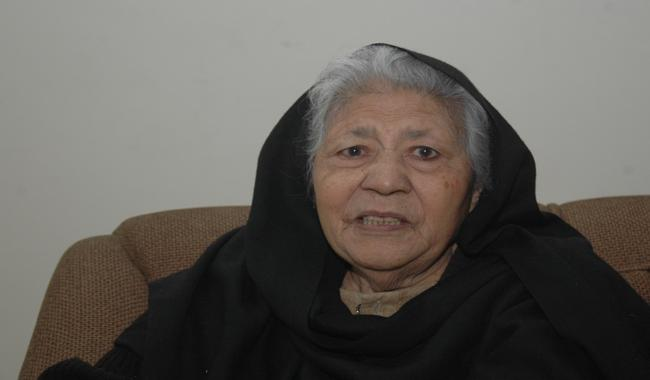 Famous writer Bano Qudsia turns 88