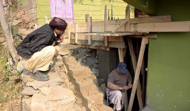 Indian shelling forces AJK people to live in concrete bunkers