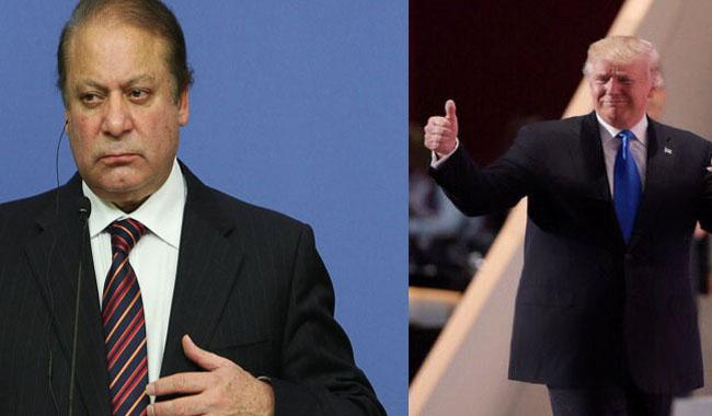 PM Nawaz telephones Trump