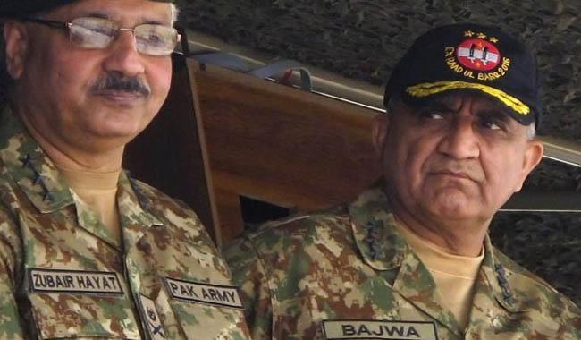 Army denies Gen Bajwa, Gen Zubair Hayat met Hussain Nawaz