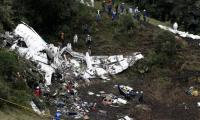 Plane taking Brazilian football team crashes in Colombia, 75 dead