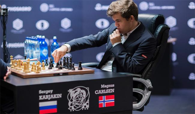 Norwegian Carlsen wins third World Chess Championship