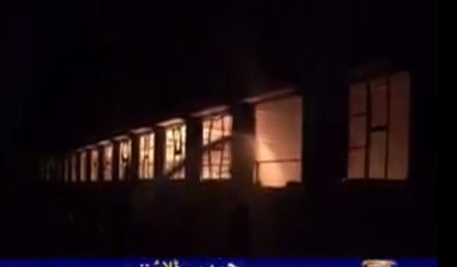 Firefighters successfully douse Karachi garment factory fire
