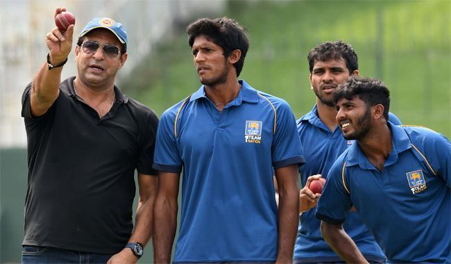 Wasim Akram says S. Lanka has pace, needs swing