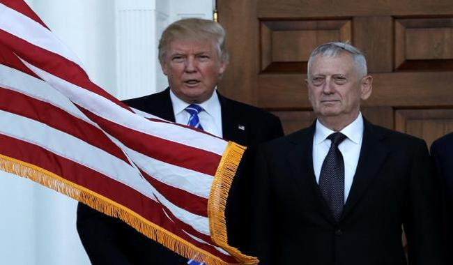 Mattis reported named for Pentagon but Trump team denies
