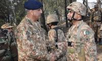 COAS visits LoC, instructs troops to respond befittingly to Indian aggression