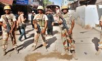 Rangers nab three terrorists in Karachi