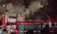 Up to 40 feared dead in blaze at California party