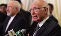 Ashraf Ghani's statement deserves condemnation: Sartaj Aziz