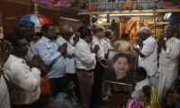 Indian state tense as popular leader critically ill