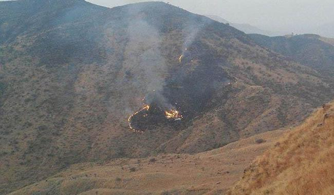 PIA plane crashes near Abbottabad, all passengers feared dead