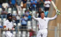 Jennings century puts England in command against India
