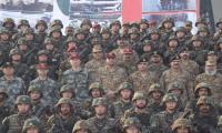 Gen Bajwa witnesses Pak- China exercise Warrior-4