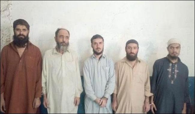 Five Taliban militants rounded up in Karachi