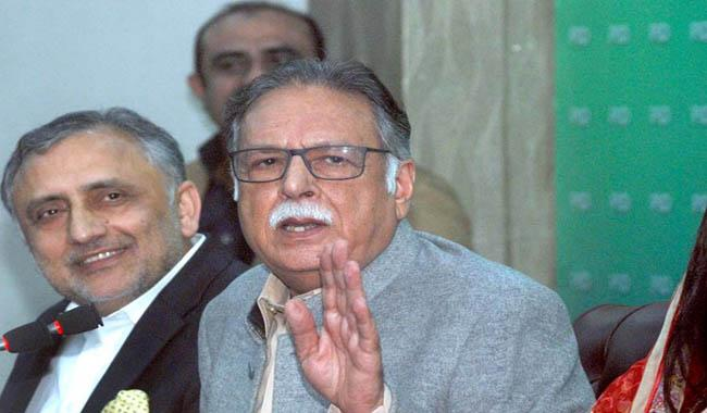 Pervaiz Rashid flays Imran in first appearance since removal from office