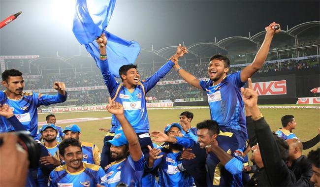 Dhaka Dynamites beat Rajshahi Kings to clinch BPL title