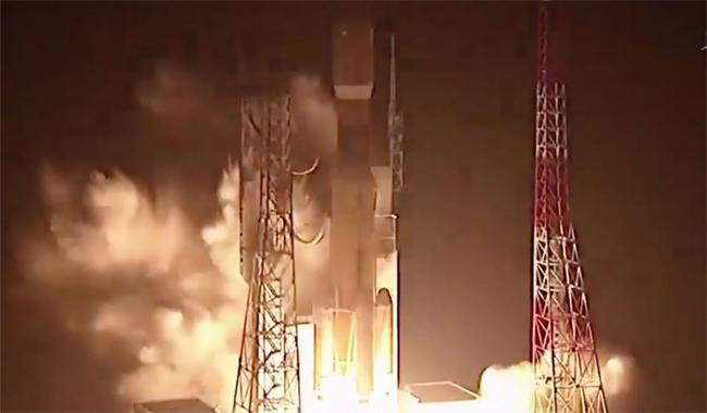 Japanese cargo ship blasts off for space station