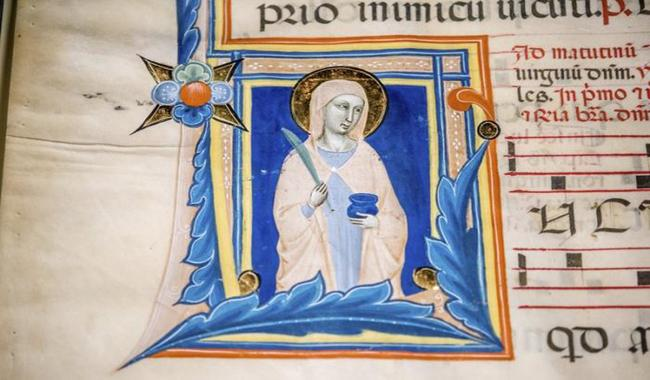 United States returns stolen 14th century image of saint to Italy