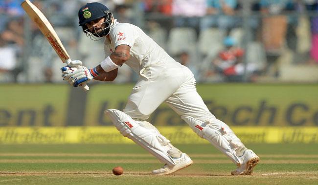 Kohli drives India to ´golden´ lead over England