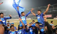 Dhaka Dynamites beat Rajshahi Kings to clinch BPL title