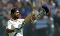 Vijay ton fires India to 247-2 in England Test