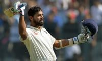 Vijay ton propels India to 348-6 in England Test
