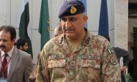 COAS Gen. Bajwa arrives in Karachi for one-day visit